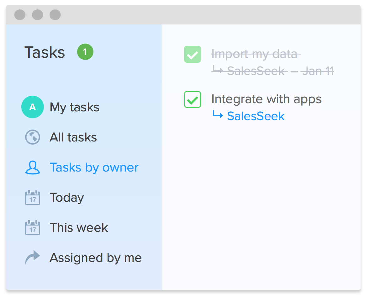 Tasks Management