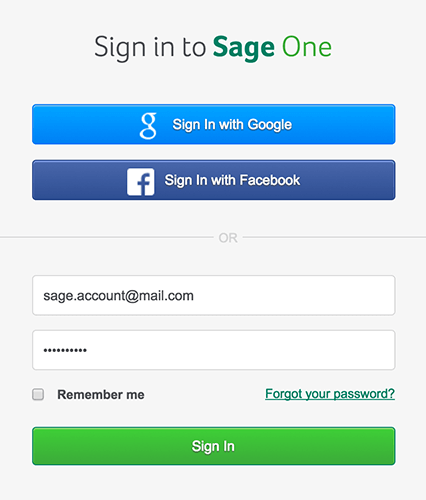 How to connect Sage One with SalesSeek