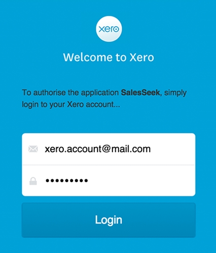 How to Connect Xero with SalesSeek