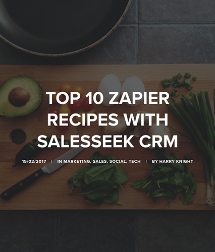 How to Connect zapier with SalesSeek